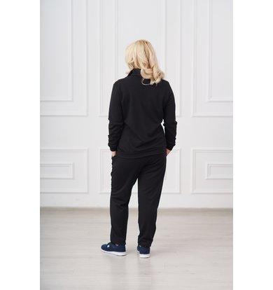 Жен. костюм арт. 19-0008 Черный р. 60