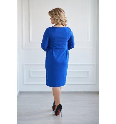 Жен. платье арт. 19-0031 Васильковый р. 46