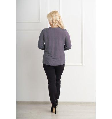 Жен. блуза арт. 19-0073 Черный р. 42