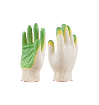 """Перчатки """"Рабочие 13 класс двойной облив"""" Белый р. 1 пара"""