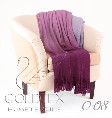 "Плед ""Gentle"" Фиолетовый р. 150х200"
