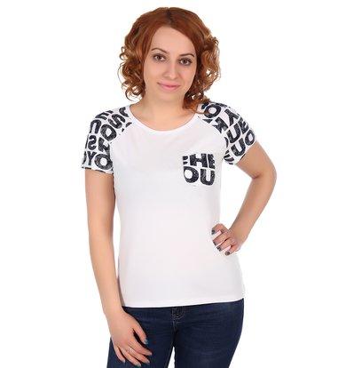 Жен. футболка арт. 16-0310 Белый р. 56