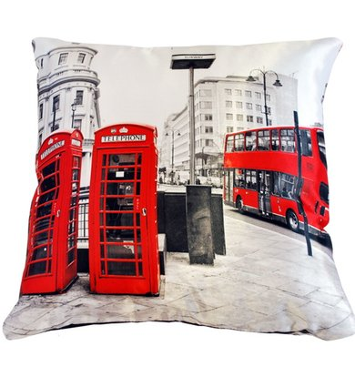 "Подушка ""Англия Лондон арт. 20-0162"" р. 35х35"