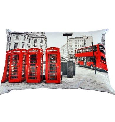 "Подушка ""Англия Лондон арт. 20-0165"" р. 35х55"