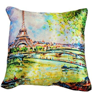 """Подушка """"Франция Париж арт. 20-0185"""" р. 35х35"""
