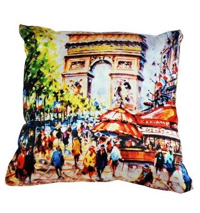 """Подушка """"Франция Париж арт. 20-0186"""" р. 35х35"""