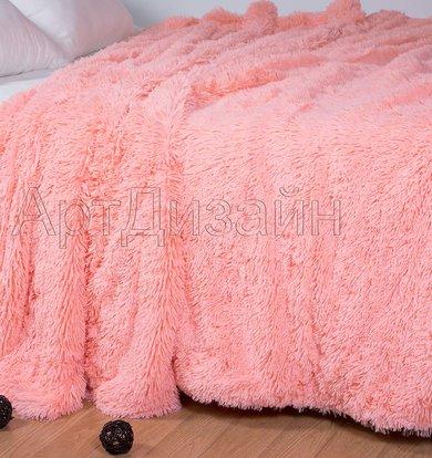 "Плед ""Шиншилла"" Розовый р. 220х240"
