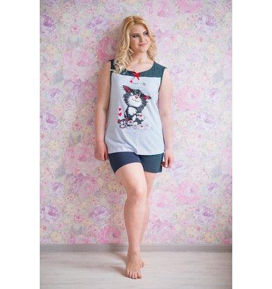 Жен. пижама арт. 19-0154 р. 56