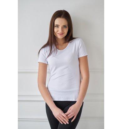 Жен. футболка арт. 19-0033 Белый р. 42