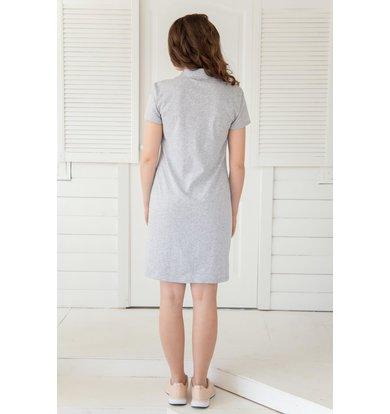 Жен. платье арт. 19-0157 Ментол р. 52