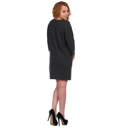 Жен. платье арт. 16-0337 Антрацит р. 60