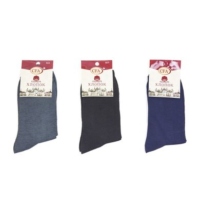 Муж. носки арт. 12-0118 Черный р. 42-48