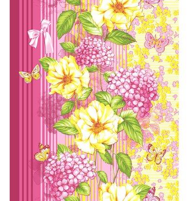 """Вафельное полотенце """"Цветник"""" р. 47х70"""