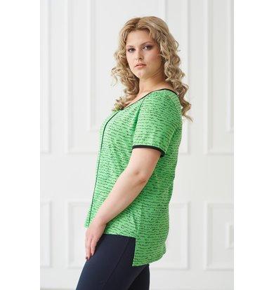 Жен. футболка арт. 19-0169 Зеленый р. 58