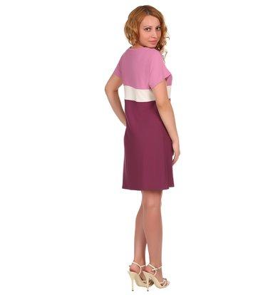 Жен. платье арт. 16-0380 Лиловый р. 54