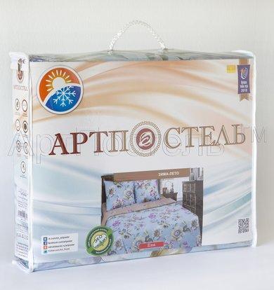 """КПБ Зима-Лето """"Ева"""" Голубой р. 2,0-сп. евро"""