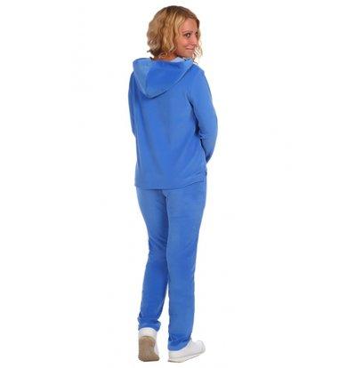 Жен. костюм арт. 16-0392 Голубой р. 56