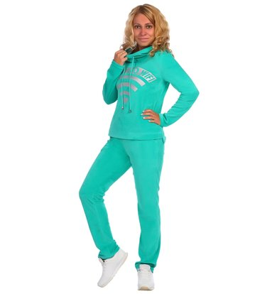 Жен. костюм арт. 16-0392 Зеленый р. 56