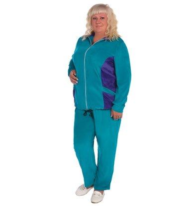 Жен. костюм арт. 16-0393 Зеленый р. 70