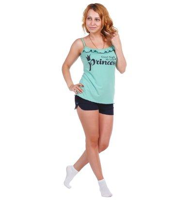 Жен. пижама арт. 16-0401 Ментоловый р. 54