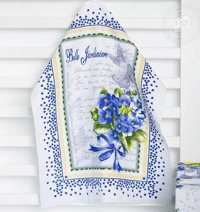 """Полотенце """"Виола"""" Голубой р. 50х70"""