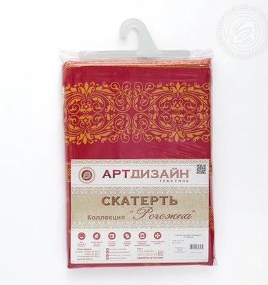 """Скатерть """"Рождество"""" Красный р. 260х145"""