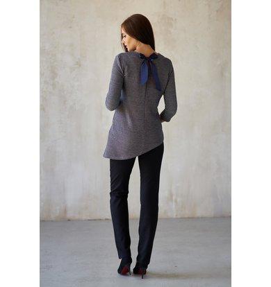 Жен. блуза арт. 19-0181 Синий р. 42
