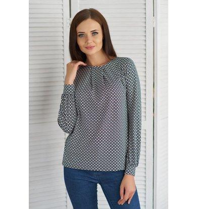 Жен. блуза арт. 19-0073 Бежевый р. 42