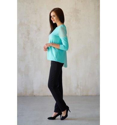 Жен. блуза арт. 19-0182 Ментол р. 42
