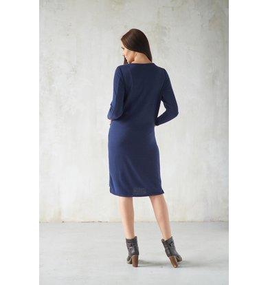 Жен. платье арт. 19-0206 Синий р. 44