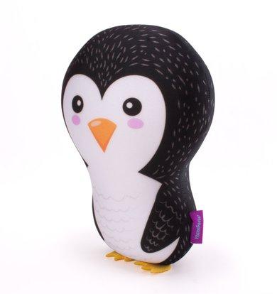 "Игрушка-подушка ""Ребятюшки Пингвинюшки"" Черный р. 30х21"