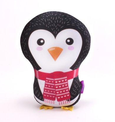 "Игрушка-подушка ""Ребятюшки Пингвинюшки"" Красный р. 30х21"
