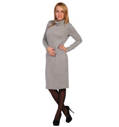 Жен. платье арт. 16-0448 Серый р. 56
