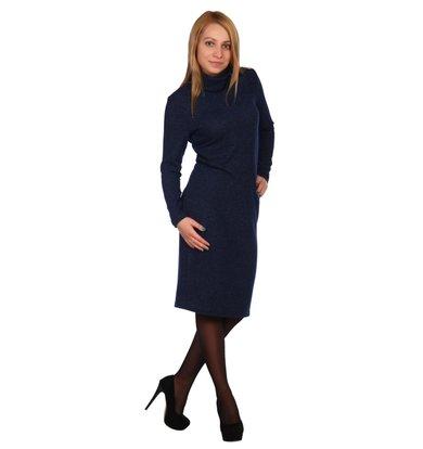 Жен. платье арт. 16-0448 Темно-синий р. 56