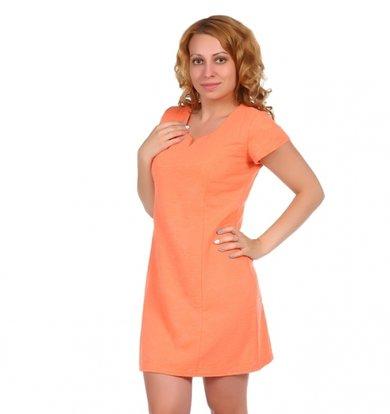 """Жен. платье """"арт. 16-0025 Коралл"""" р. 42"""