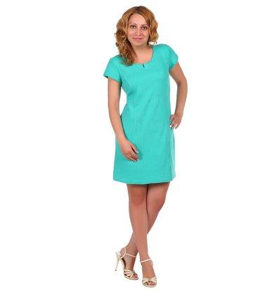 """Жен. платье """"арт. 16-0025 Ментол"""" р. 42"""