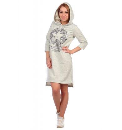 Жен. платье арт. 16-0395 Светло-зеленый р. 44