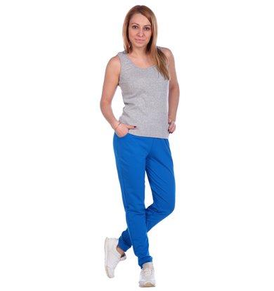 Жен. брюки арт. 16-0488 Бирюза р. 46