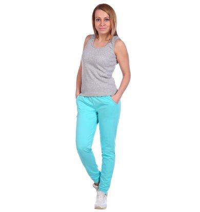 Жен. брюки арт. 16-0488 Мята р. 58