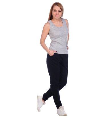Жен. брюки арт. 16-0488 Темно-синий р. 46