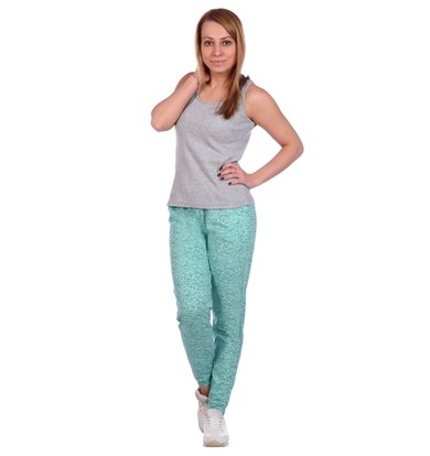 Жен. брюки арт. 16-0489 Мята р. 60