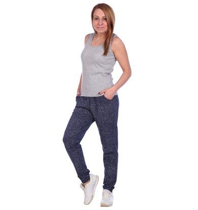 Жен. брюки арт. 16-0489 Темно-синий р. 46