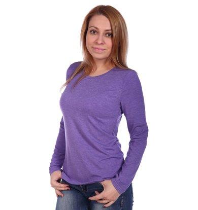 Жен. блуза арт. 16-0499 Сирень р. 44
