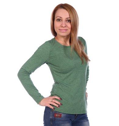 Жен. блуза арт. 16-0499 Зеленый р. 44