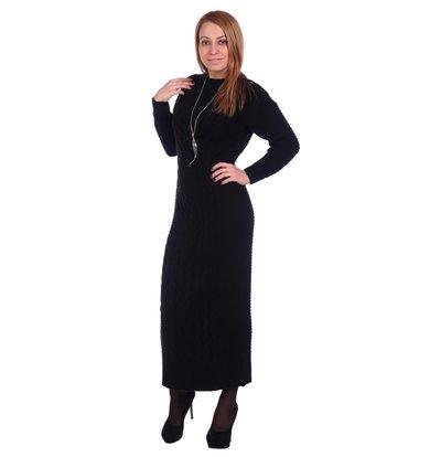 Жен. платье арт. 16-0501 Черный р. 42-44