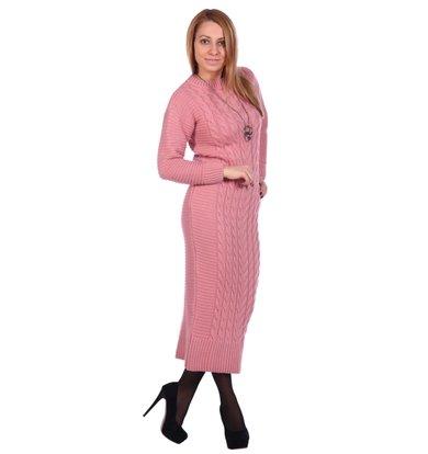 Жен. платье арт. 16-0501 Розовый р. 42-44