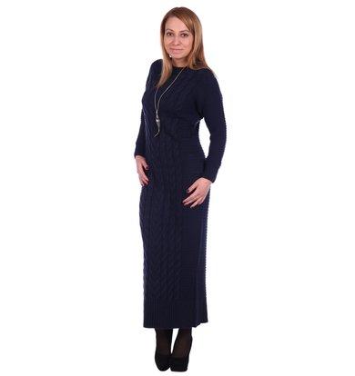 Жен. платье арт. 16-0501 Темно-синий р. 42-44