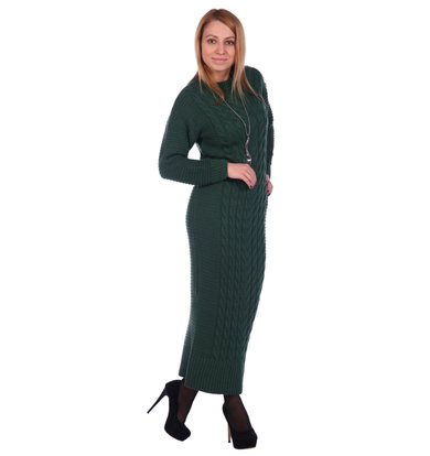 Жен. платье арт. 16-0501 Зеленый р. 42-44