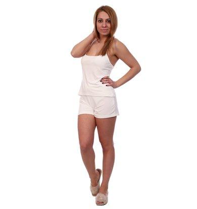 Жен. пижама арт. 16-0497 Молочный р. 42