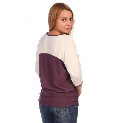 Жен. блуза арт. 16-0453 Молочный р. 60